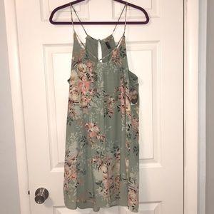 NWT Mint green flower dress